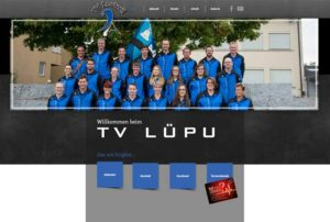 Website Turnverein Leutwil